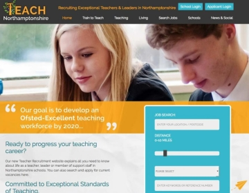 Northamptonshire: The Place to Teach
